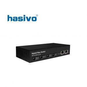 Switch Fiber Gigabit Hasivo F1200-4FX-2G