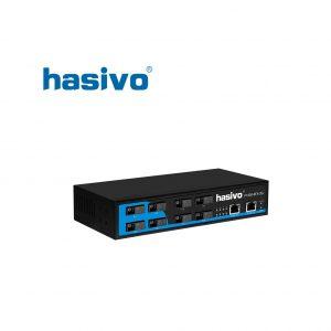 Switch Fiber Gigabit Hasivo F1200-8FX-2G