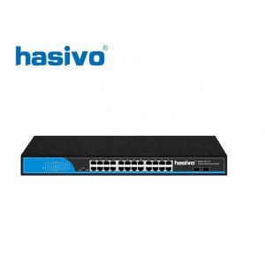 Switch Fiber Gigabit Hasivo S2800-16G-2S