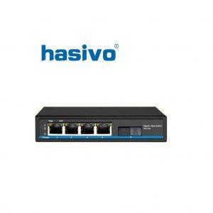 Switch Fiber Gigabit Hasivo S600-4G-1GX