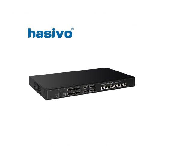 Switch Fiber Gigatbit Hasivo SW16S08G