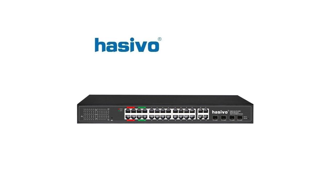 Unmanaged Switch Super PoE HASIVO S5800P-24F-4TC-SUPER