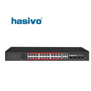Unmanaged Switch Super PoE HASIVO S5800P-24G-4TC-BT